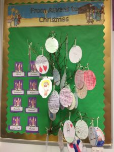 In Year 5, we prepared for Advent by learning about Jesus' Family. How did you prepare for Advent at home?